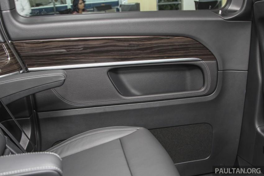 Mercedes-Benz V-Class now here – V 220 d, fr RM435k Image #376944
