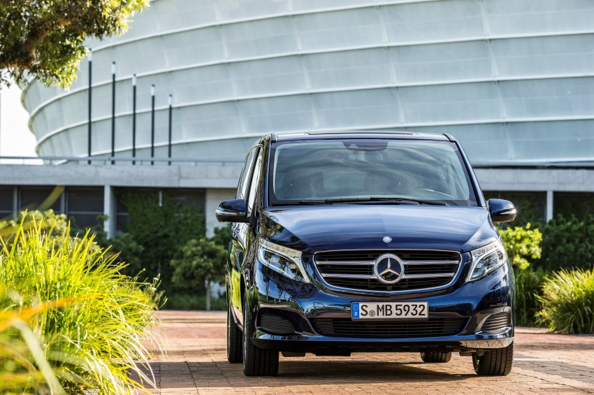 Mercedes-Benz V-Class now here – V 220 d, fr RM435k Image #376834
