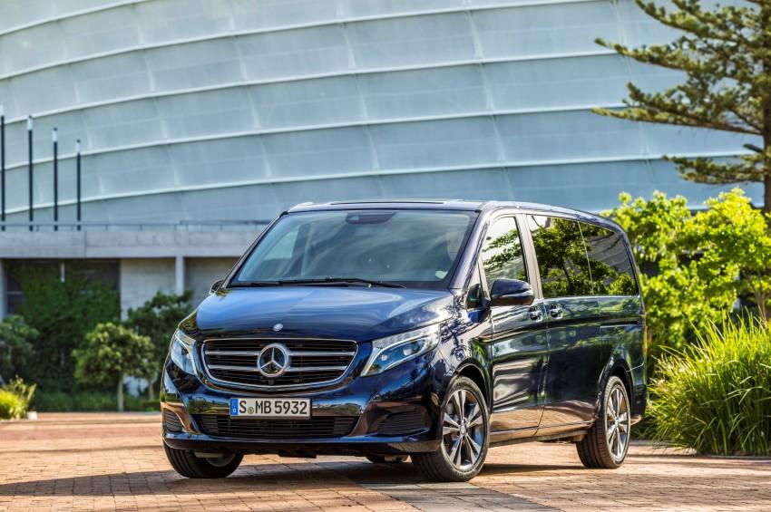 Mercedes-Benz V-Class now here – V 220 d, fr RM435k Image #376835
