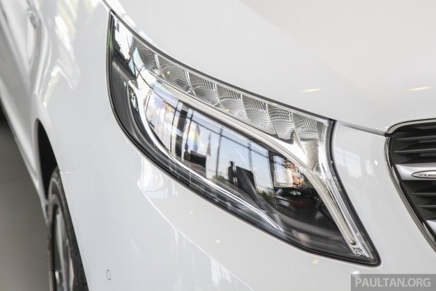 Mercedes-Benz V-Class now here – V 220 d, fr RM435k Image #376910