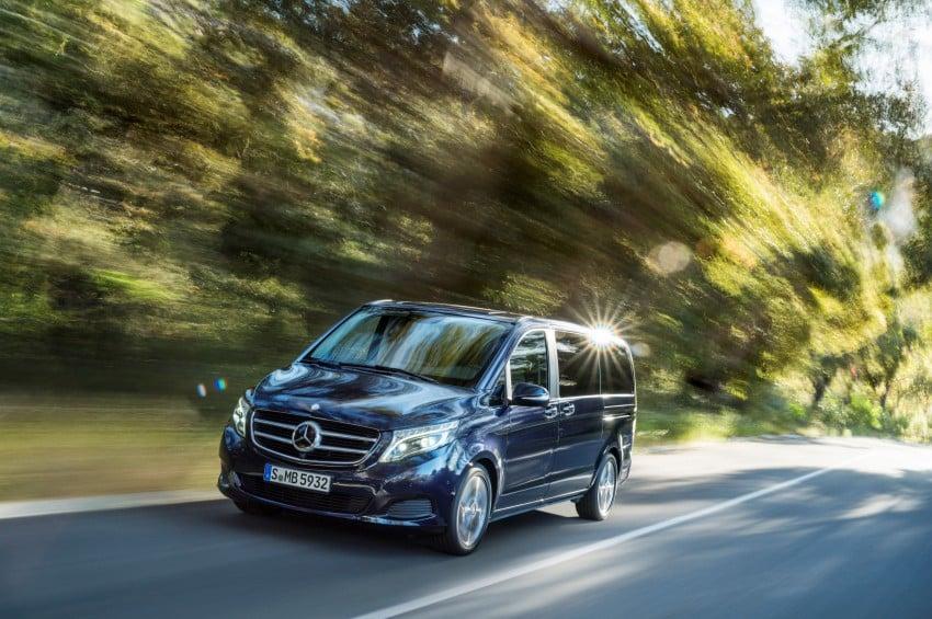 Mercedes-Benz V-Class now here – V 220 d, fr RM435k Image #376837