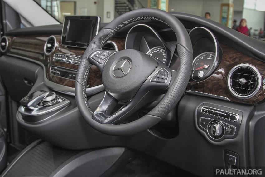 Mercedes-Benz V-Class now here – V 220 d, fr RM435k Image #376948