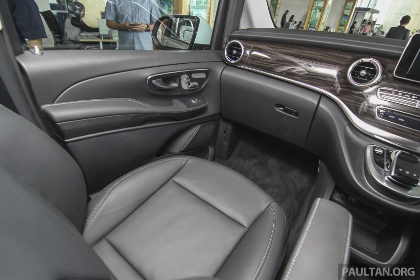 Mercedes-Benz V-Class now here – V 220 d, fr RM435k Image #376954