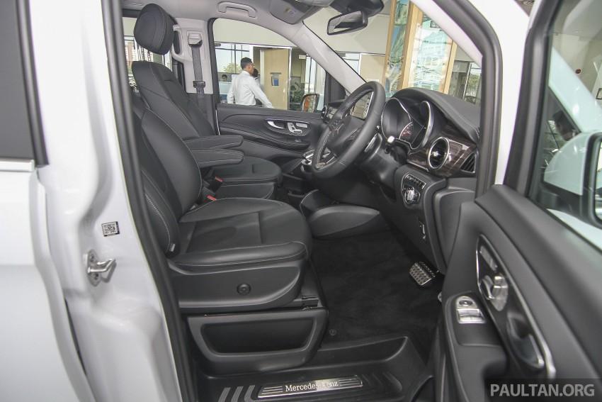 Mercedes-Benz V-Class now here – V 220 d, fr RM435k Image #376956