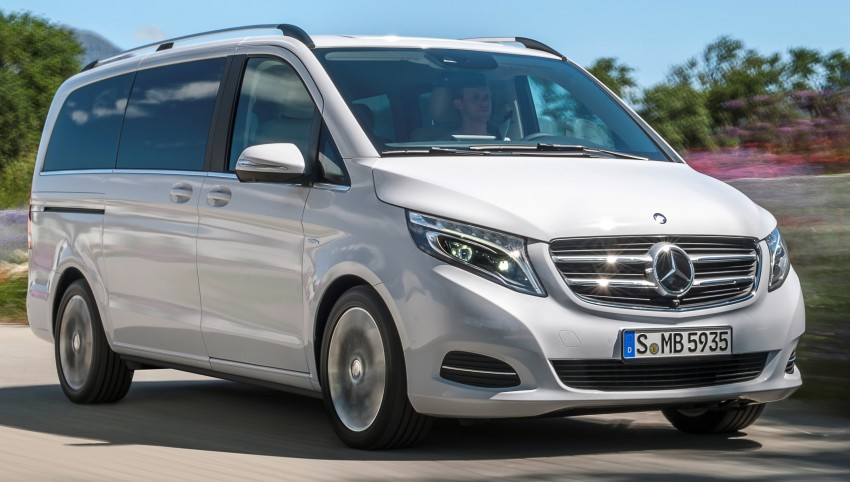 Mercedes-Benz V-Class now here – V 220 d, fr RM435k Image #376809