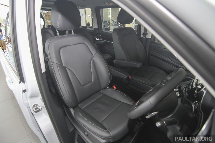 Mercedes-Benz V-Class now here – V 220 d, fr RM435k Image #376957