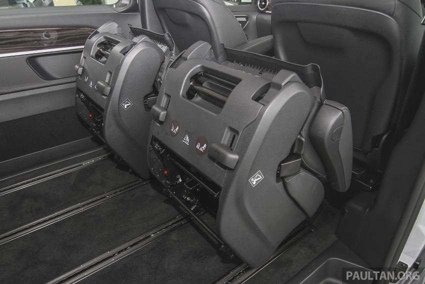 Mercedes-Benz V-Class now here – V 220 d, fr RM435k Image #376960