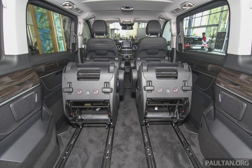 Mercedes-Benz V-Class now here – V 220 d, fr RM435k Image #376965