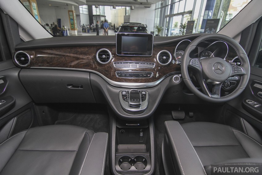 Mercedes-Benz V-Class now here – V 220 d, fr RM435k Image #376968