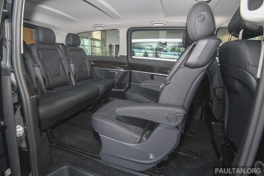 Mercedes-Benz V-Class now here – V 220 d, fr RM435k Image #376969