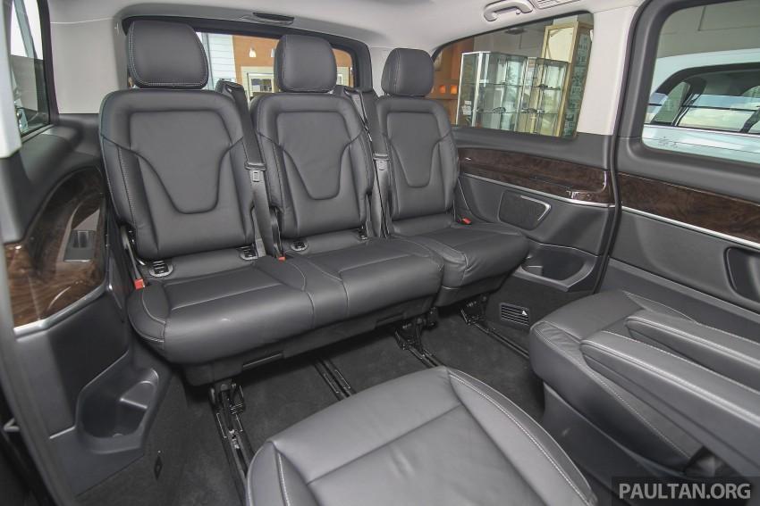 Mercedes-Benz V-Class now here – V 220 d, fr RM435k Image #376970