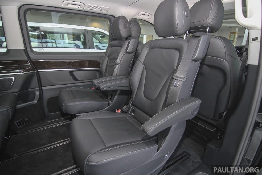 Mercedes-Benz V-Class now here – V 220 d, fr RM435k Image #376971