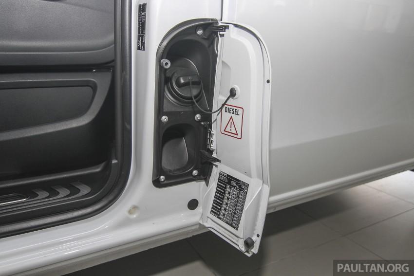Mercedes-Benz V-Class now here – V 220 d, fr RM435k Image #376972
