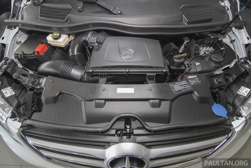 Mercedes-Benz V-Class now here – V 220 d, fr RM435k Image #376973