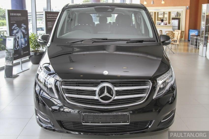 Mercedes-Benz V-Class now here – V 220 d, fr RM435k Image #376976