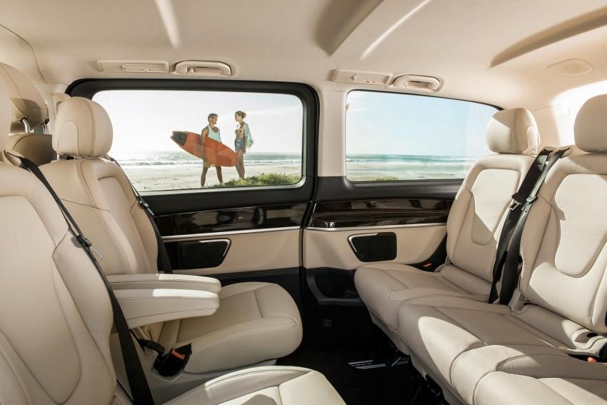 Mercedes-Benz V-Class now here – V 220 d, fr RM435k Image #376811