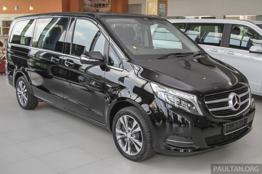 Mercedes-Benz V-Class now here – V 220 d, fr RM435k Image #376978