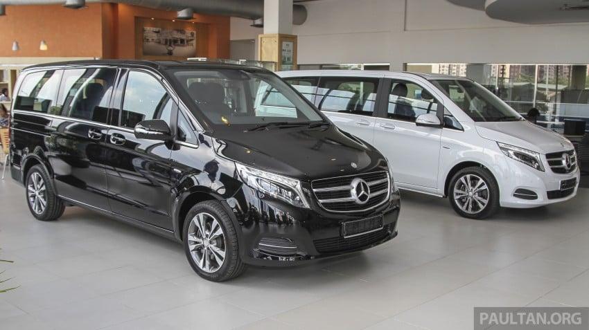 Mercedes-Benz V-Class now here – V 220 d, fr RM435k Image #376979