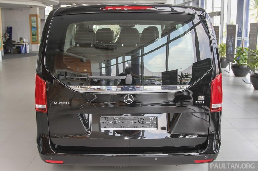 Mercedes-Benz V-Class now here – V 220 d, fr RM435k Image #376980