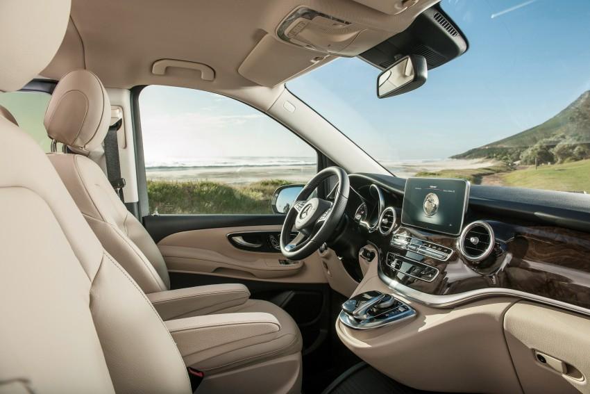 Mercedes-Benz V-Class now here – V 220 d, fr RM435k Image #376812