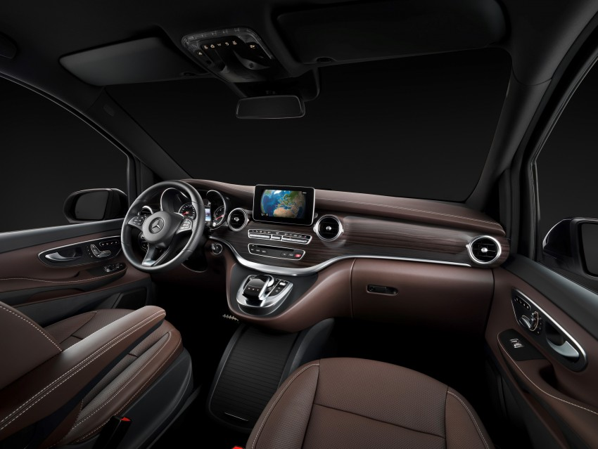 Mercedes-Benz V-Class now here – V 220 d, fr RM435k Image #376839