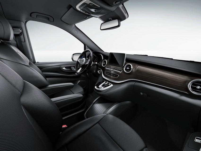 Mercedes-Benz V-Class now here – V 220 d, fr RM435k Image #376852