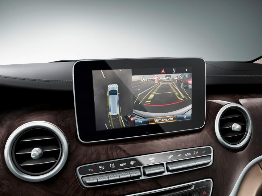 Mercedes-Benz V-Class now here – V 220 d, fr RM435k Image #376854