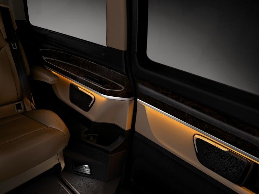 Mercedes-Benz V-Class now here – V 220 d, fr RM435k Image #376860