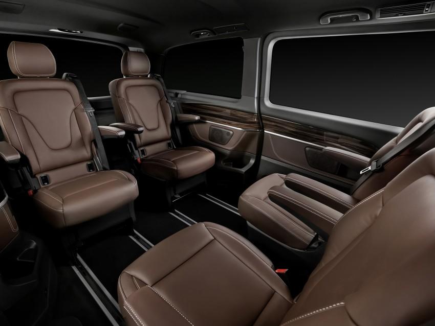Mercedes-Benz V-Class now here – V 220 d, fr RM435k Image #376842