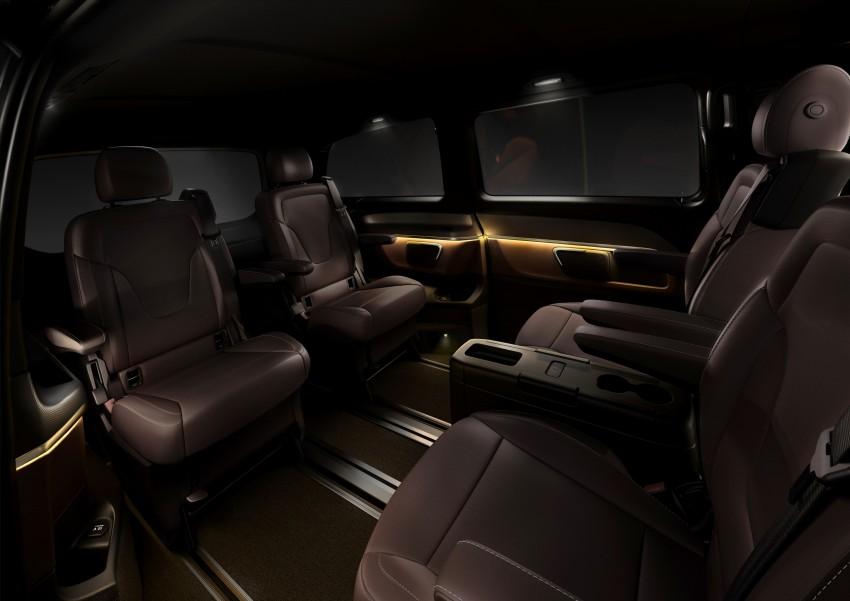 Mercedes-Benz V-Class now here – V 220 d, fr RM435k Image #376845