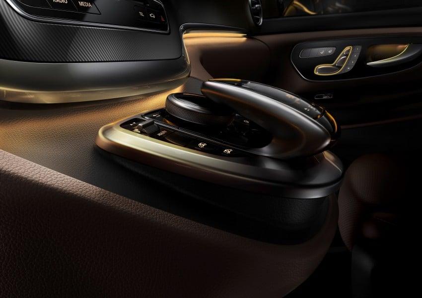 Mercedes-Benz V-Class now here – V 220 d, fr RM435k Image #376846