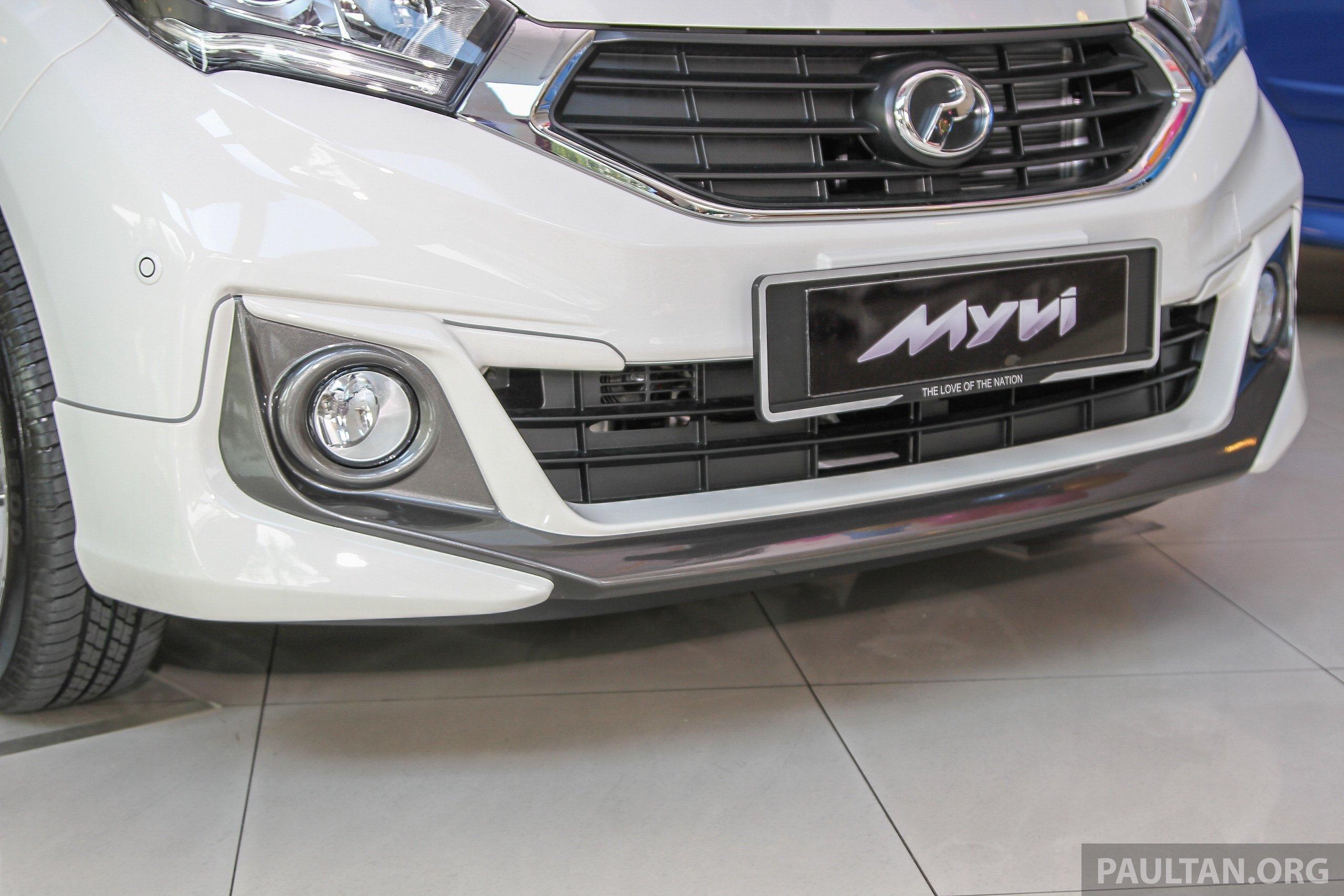 2018 Perodua Alza >> Perodua launches Alza S, Myvi Premium XS 1.3 today Paul Tan - Image 381525