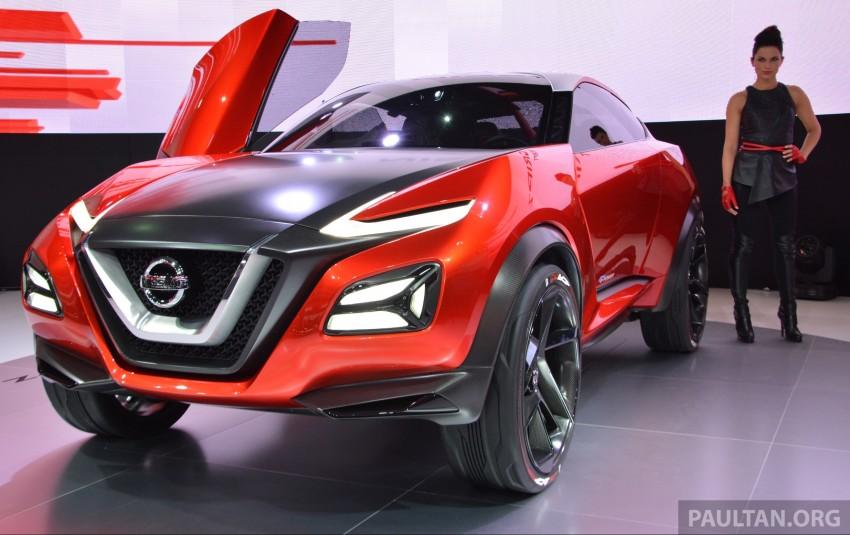 Frankfurt 2015: Nissan Gripz Concept finally debuts Image #380157