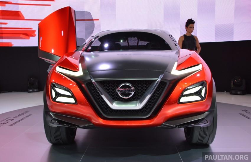 Frankfurt 2015: Nissan Gripz Concept finally debuts Image #380166