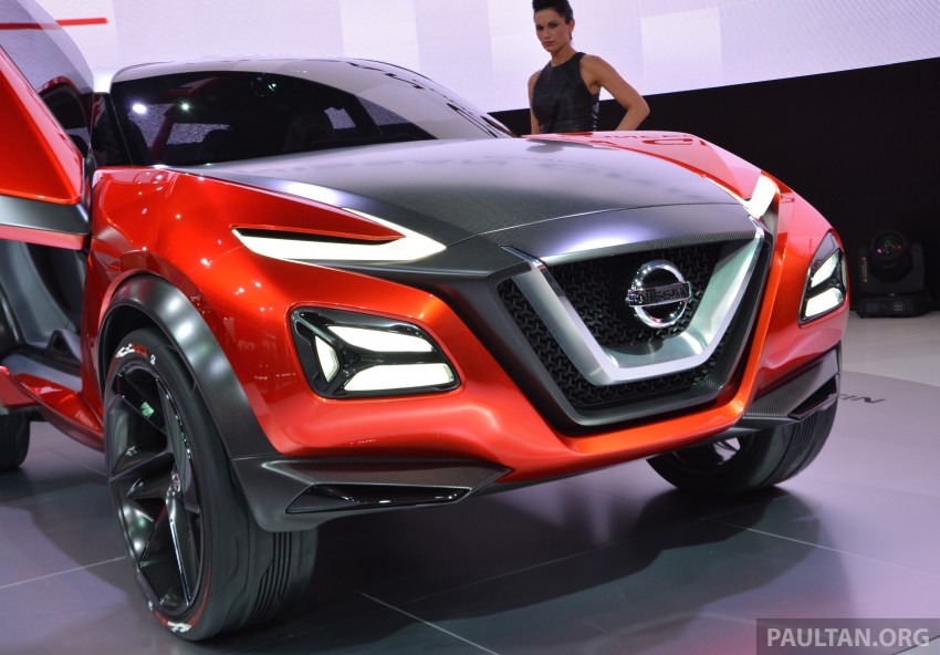 Frankfurt 2015: Nissan Gripz Concept finally debuts Image #380169