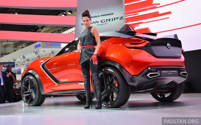 Frankfurt 2015: Nissan Gripz Concept finally debuts Image #380158