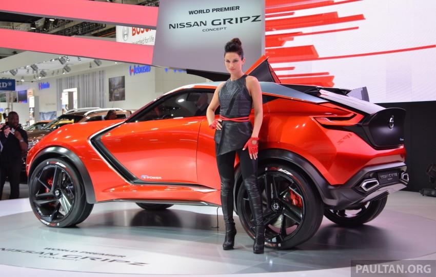Frankfurt 2015: Nissan Gripz Concept finally debuts Image #380176