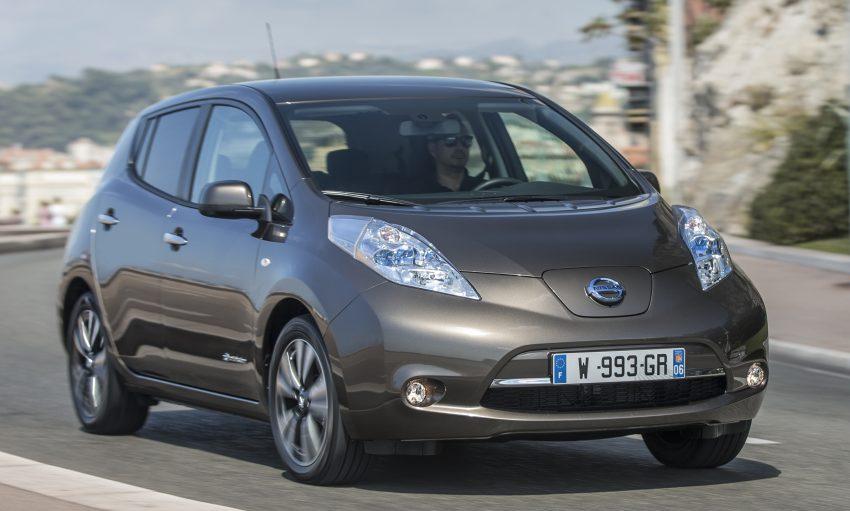 2016 Nissan Leaf gets 25% extra range, now 250 km Image #378347