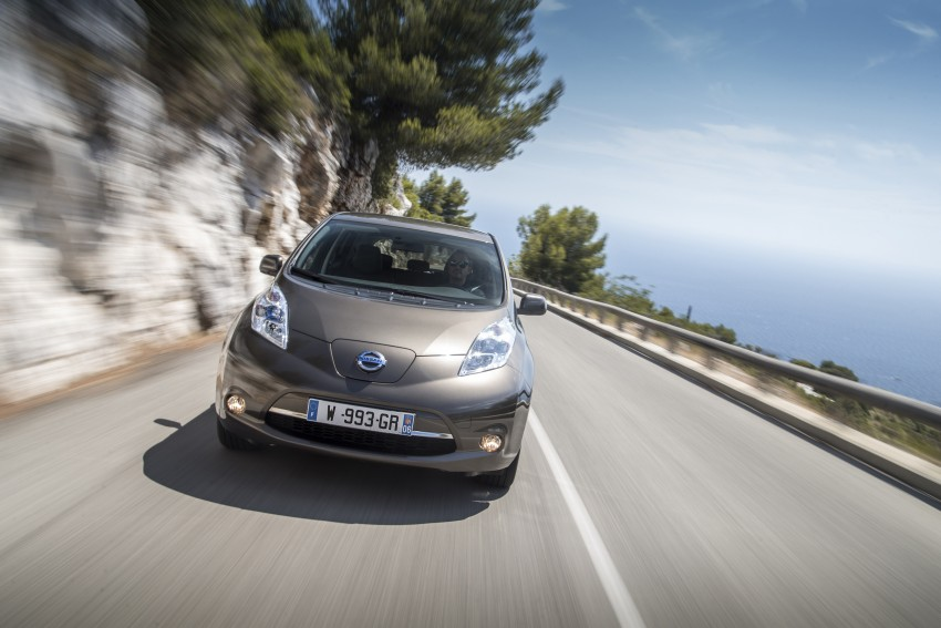 2016 Nissan Leaf gets 25% extra range, now 250 km Image #378350