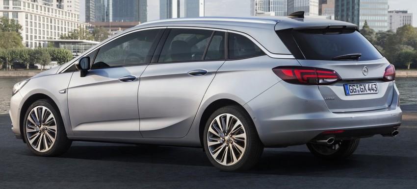 2016 Opel/Vauxhall Astra Sports Tourer revealed Image #377994