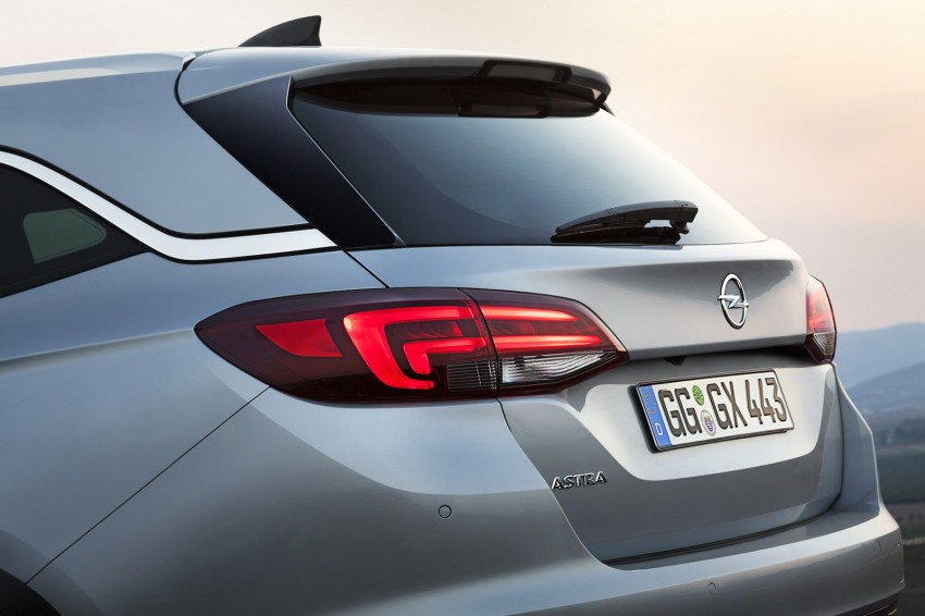 2016 Opel/Vauxhall Astra Sports Tourer revealed Image #378006
