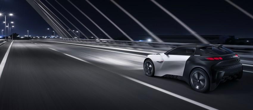 Peugeot Fractal – electric roadster concept unveiled Image #373727