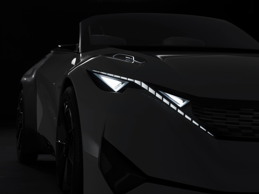 Peugeot Fractal – electric roadster concept unveiled Image #373728