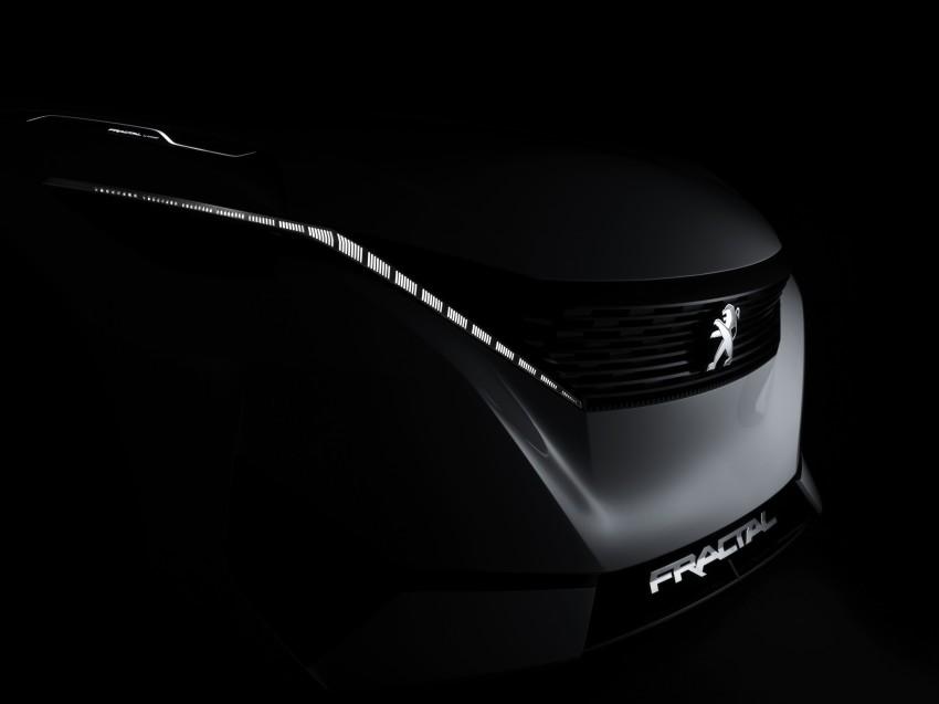 Peugeot Fractal – electric roadster concept unveiled Image #373729