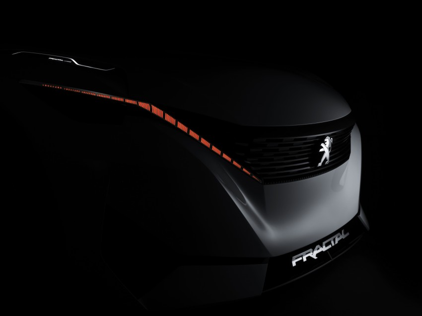 Peugeot Fractal – electric roadster concept unveiled Image #373730