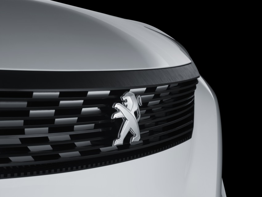 Peugeot Fractal – electric roadster concept unveiled Image #373733