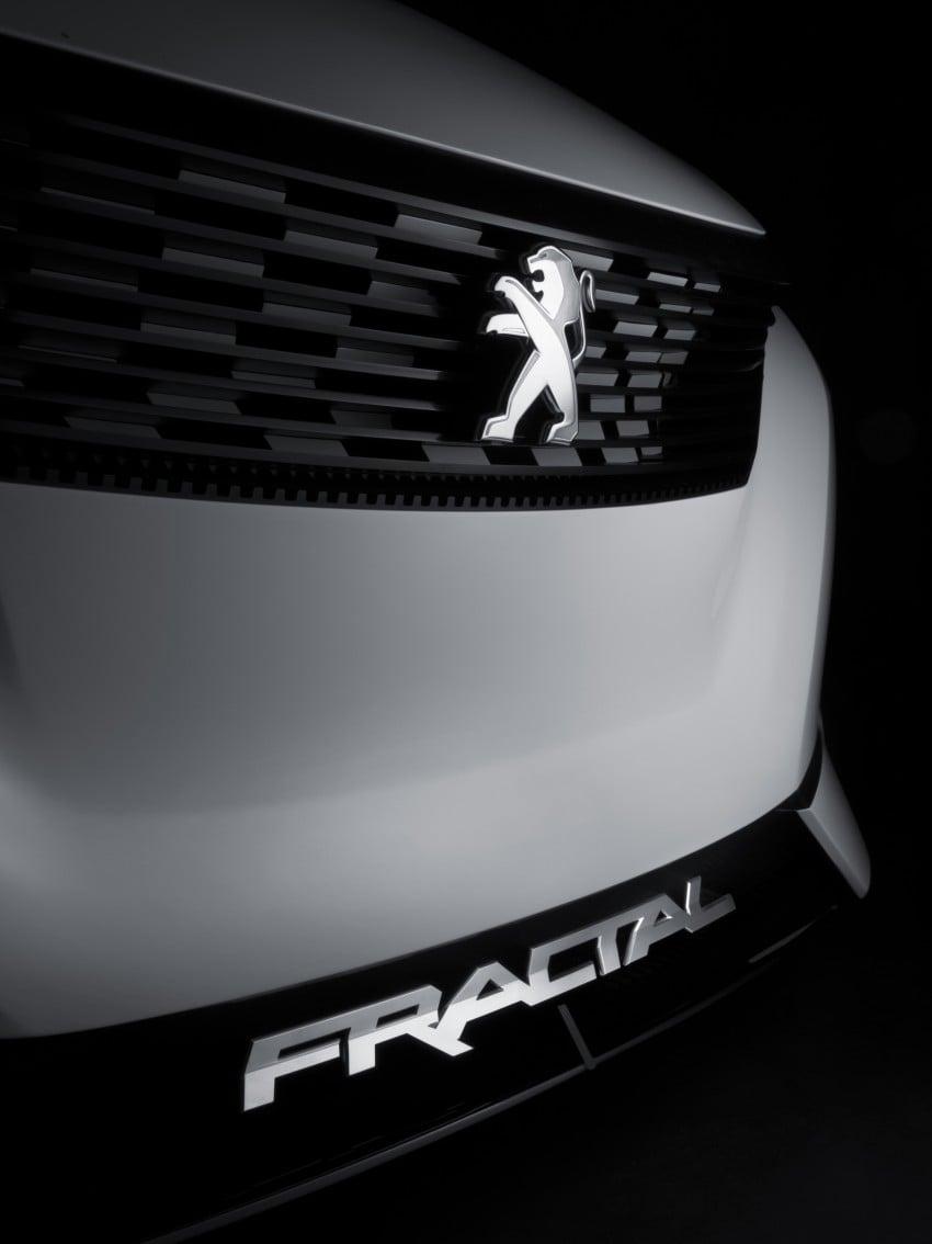 Peugeot Fractal – electric roadster concept unveiled Image #373735
