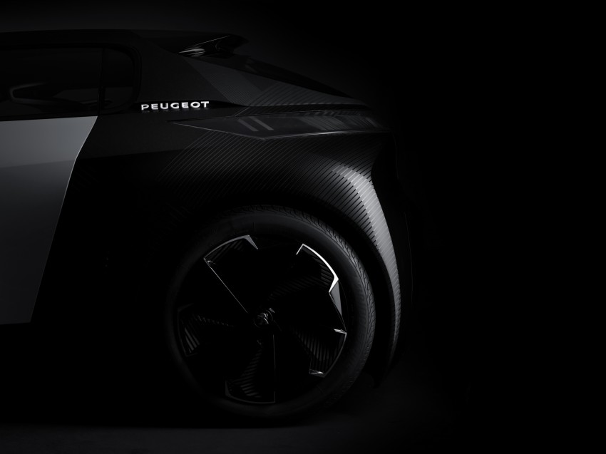 Peugeot Fractal – electric roadster concept unveiled Image #373739