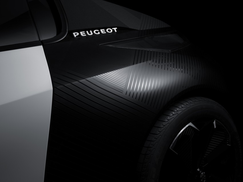 Peugeot Fractal – electric roadster concept unveiled Image #373741