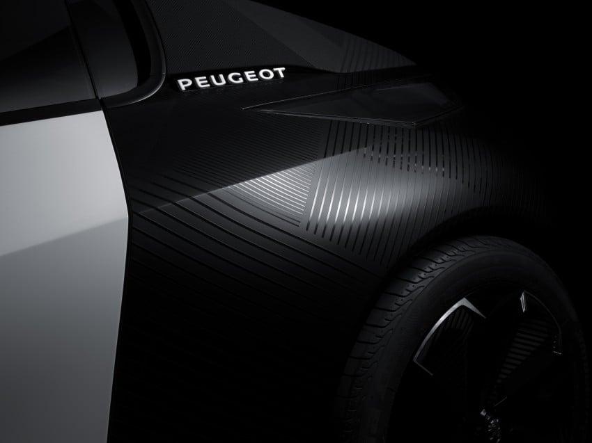 Peugeot Fractal – electric roadster concept unveiled Image #373741